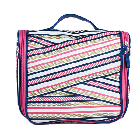 Grande trousse rayures